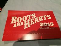 Boots and hearts general admission weekends pass