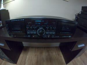 TEAC double cassette deck. Model W-865R
