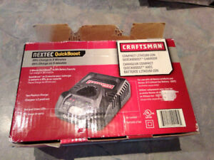12 Volt Craftsman Li-ion battery charger new