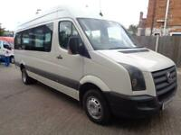 vw crafter mini bus 2008 /1 owner ideal camper van