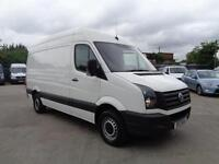 VOLKSWAGEN CRAFTER 2.0 TDi | CR35 | MWB - HIGH ROOF | 1 OWNER | 2013 MODEL