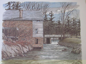 THE RIDEAU CANAL STORY PRINTS Cornwall Ontario image 4