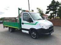 2012 62 IVECO-FORD DAILY 2.3 35C13 130 BHP 13FT ALLOY DROPSIDE W TAILLIFT