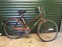 Releigh transit ladies vintage bike in vgc £100