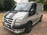 61 FORD TRANSIT 2.2 TDCI SILVER 190 BHP 260S SPORT LOW 86K FULL HISTORY PX SWAPS