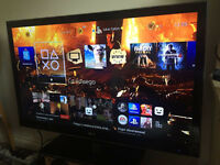 "LG 42"" led TV 3D with glasses"