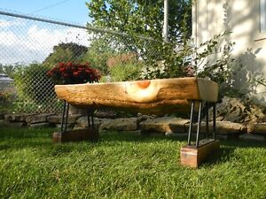 Log Benches - Pine - $399.00 each Cambridge Kitchener Area image 2