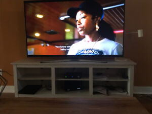 "65"" flat screen TV with stand"
