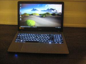 "Acer Laptop, Intel i7-7500U, 12 GB RAM, 1TB HDD, 15.6"" 1080p LED"