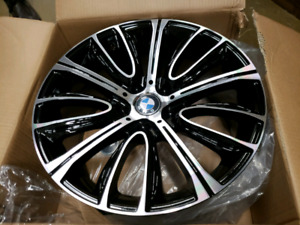 """BMW summer kit wheels and tires new in box 18"""""""