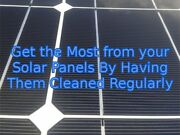 Solar panel cleaning  northern Gold Coast  Ormeau Gold Coast North Preview