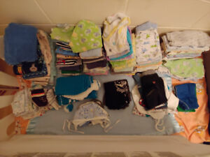 Baby stuff - baby carrier, clothes winter, summer - some new*