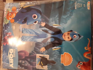 New Finding Dory Costume, 12-18 months, size 1