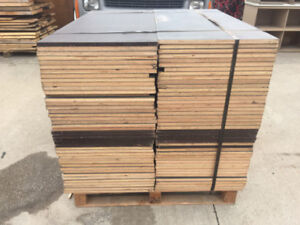 MARINE GRADE PLYWOOD OFF CUTS  3/4 IN - 10 - 24 IN WIDE BY 48
