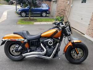 2014 Harley Davidson Fatbob (like new)