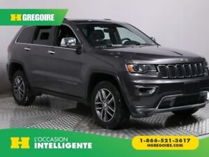 2017 Jeep Grand Cherokee LIMITED 4X4 CUIR TOIT MAGS BLUETOOTH CA