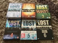 Complete series of LOST.