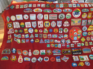 grosse collection patch ecusson boy scout bsa badge crest