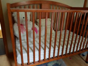 Baby crib plus matress