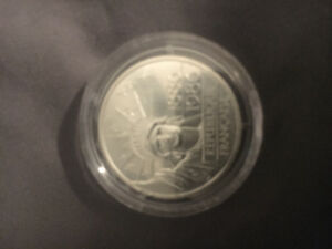 100 French Franc coin