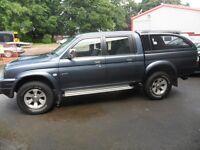 Mitsubishi L200 Double Cab 2.5 Diesel Trojan Pick up No VAT