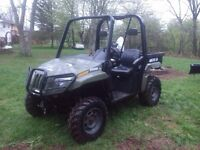 2007 Arctic Cat side by side - trade for compact tractor