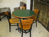 Restaurant Quality Table & 4 Chairs