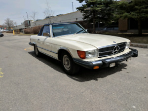 1979 Mercedes 450SL Coupe convertible