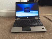 Hp EliteBook 2530p 160GB 3GB Windows 7 laptop