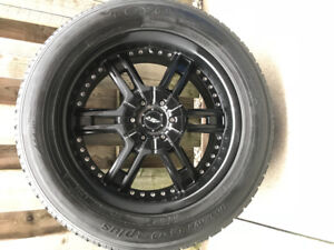 275/55R20 Winter rim and tires