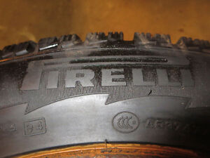 PIRELLI ICE CONTROL     one winter  tire 205-65R-16