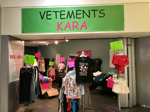 Clothing discount store plus some fashion jewelry