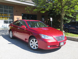 2009 LEXUS ES 350,LOADED , LEATHER , NAVI + SUNROOF ,CERTIFIED