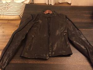 Dainese Jessy - Leather Motorcycle Jacket - Size 44