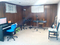 Vocals and band recording - $20/hr flat rate
