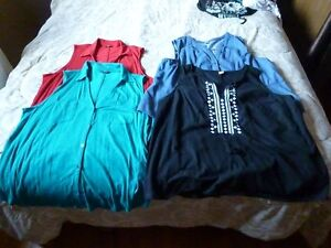 Womans XL and XXL Tops