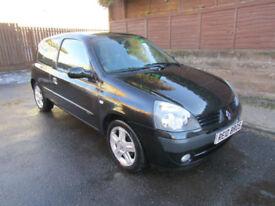 2006 (06) Renault Clio 1.2 Campus Sport 3 Door Hatchback Petrol Manual