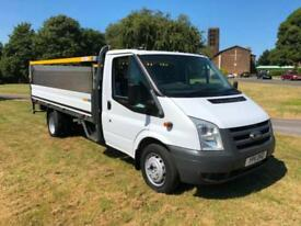 Ford Transit 3.5T 14ft Dropside Tail Lift Only 66397 Miles From New