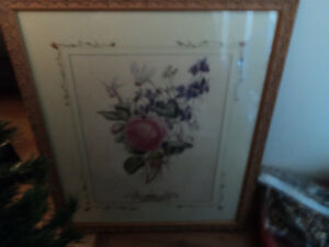 Beautiful Matted Picture