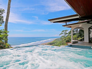 Villa 4 Bed - Insane ocean View! Perfect Location! Costa Rica