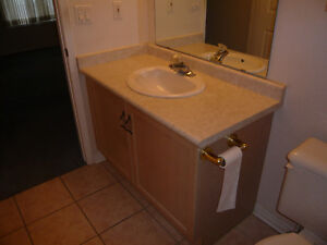 Used 36 Inch Vanity in Good Condition