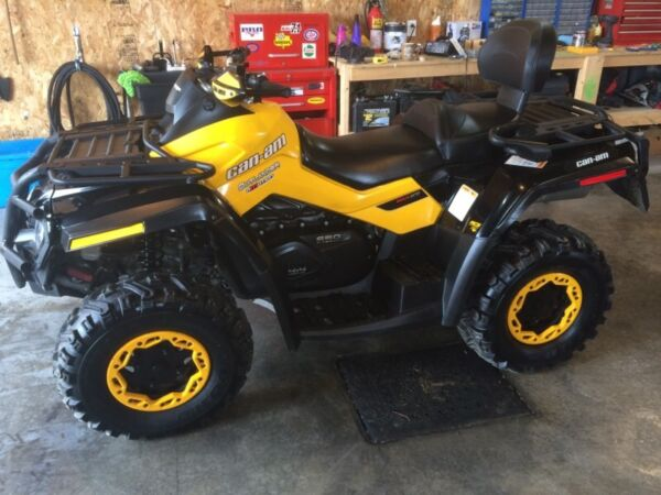 Used 2012 Can-Am Outlander max XT-P