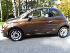 2012 Fiat 500 Lounge 85,000 kms