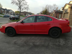 2004 Red Oldsmobile Alero As is