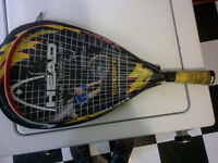 Head Ti Crush XL Racquetball Racquet Raquette Needs New Strings