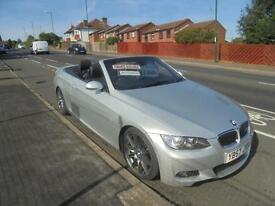 BMW 3 SERIES 330D M-SPORT 2 DR STEP AUTO..CONVERTABLE, 2007 (57 PLATE).