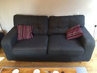 Lovely comfortable 2 seater sofa in grey