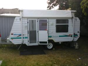 Millard pop-top caravan 2001