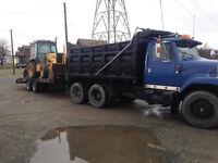 Backhoe/Dump Truck