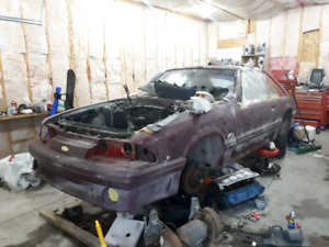 1988 Ford Mustang Hatchback 5.0/5spd SHELL
